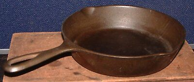 Vintage 1950's Lodge Triple Notch No 5 Cast Iron Skillet W/Unusual Ghost Marks