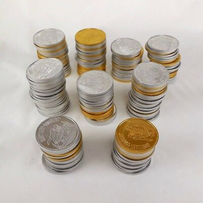 Southern Comfort Steamboat Collectors Coins Tokens 180 Mix of Gold and Silver