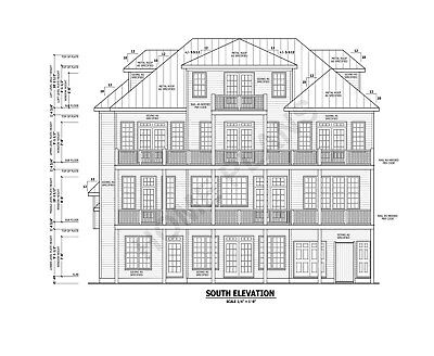 Full Custom Home/House Architectural & Struc. Plans w/ CAD files Plan # P-1354