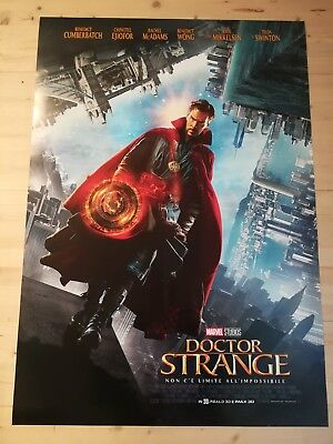 "DOCTOR STRANGE  Original Movie Poster 27X40"" 1 Side Italian Marvel"