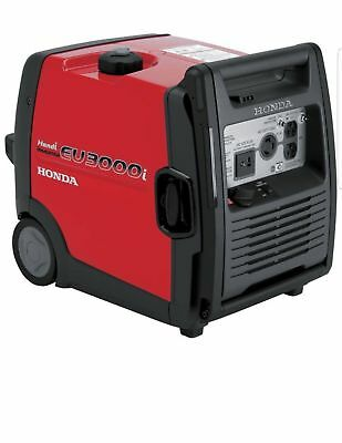Honda EU3000i Handi Portable Inverter Generator 3000 Surge Watts, Model#653580