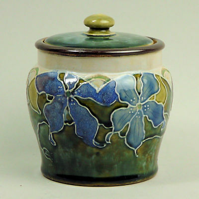 Royal Doulton Art Pottery Tobacco Jar By Minnie Webb C.1910