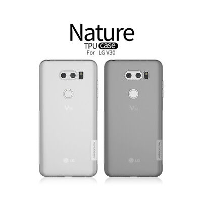 NILLKIN Matte Bumper Nature TPU Gel Silicone Soft Back Case Cover For LG V30