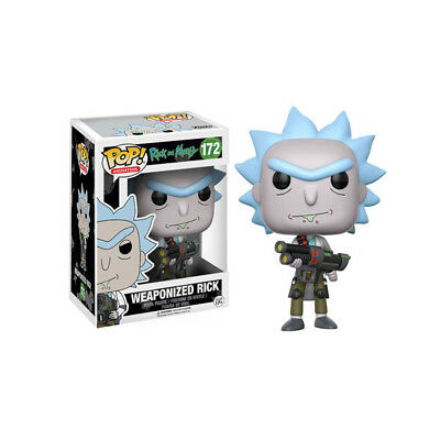 Funko Pop! Rick And Morty 172 Weaponized Rick Vinyl Figure