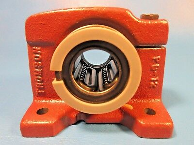 Thomson PB-12A Precision Steel Ball Bushing Bearing w Self-Aligning Pillow Block
