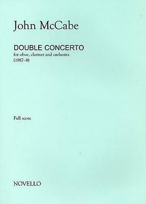 John McCabe: Double Concerto For Oboe, Clarinet and Orchestra (Study Score) Oboe