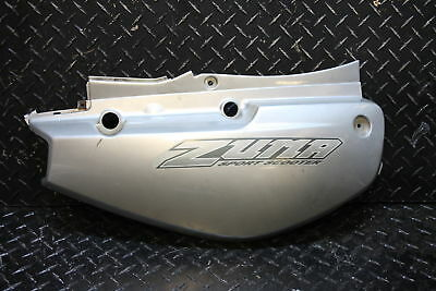 2003 Yamaha Zuma 50 YW50 RIGHT FRONT SIDE SEAT SADDLE PANEL TRIM COWL FAIRING