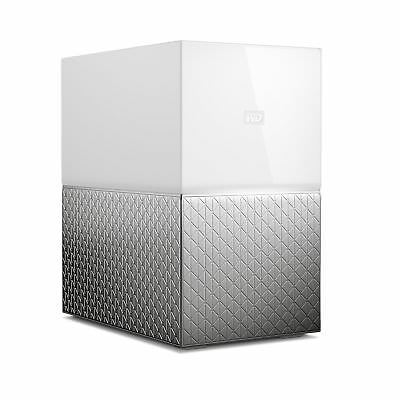 Western Digital My Cloud Home Duo 8TB Ethernet LAN White personal cloud storage