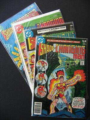 Shade the Changing Man #1,2,3,4,5,6,7,8 VF/NM 1977 Lot of 8 High Grade DC Comics