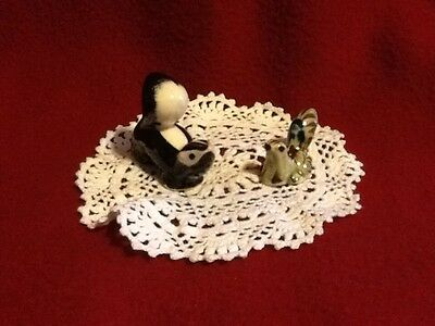 "Vintage Ceramic ""Skunks"" 2"