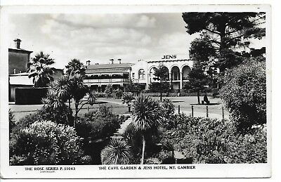 The Caves Garden & Jens Hotel Mount Gambier South Australia  Photo Postcard