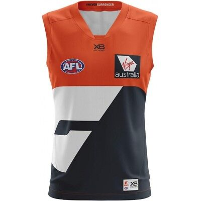 GWS Giants 2018 Home Guernsey S - 3XL & Kids XBlades Greater Western Sydney AFL