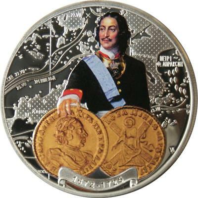 Niue 2011 $1 Russian Emperors Coins - Peter the Great 28.28 g Silver Proof Coin