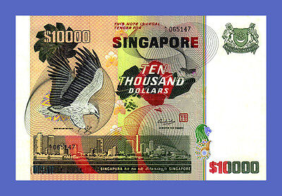 SINGAPORE - 10000 Dollars 1978s - Reproductions - See description!!!