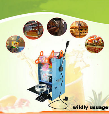 220V 270W Automatic Cup Sealing Machine Electric Cup Sealer Bubble 300 Cups/hr