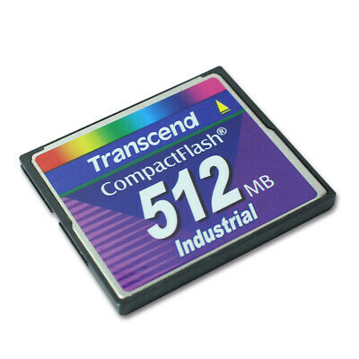 Transcend CF 512MB 80X  512MB Compact Flash Memory Card  Made in TaiWan Genuine