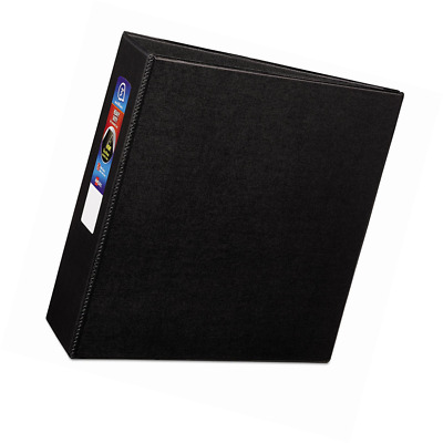 Avery Heavy-Duty Binder with 3-Inch One Touch EZD Ring, Black (79983)