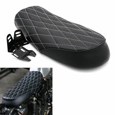 Cafe Racer Vintage Saddle Hump Black Universal Seat  for Honda CB350 CB450 CB750