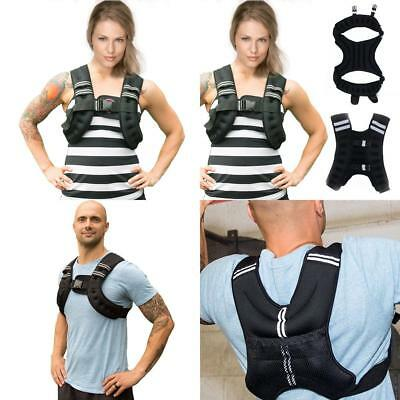Weighted Vest  Fitness Weight  loss Strength Jacket  Home Gym Running 10kg