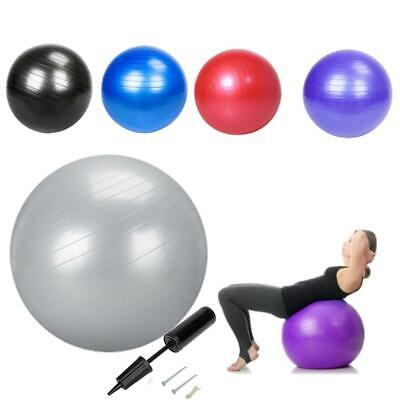 Exercise Ball Yoga 55cm 65cm Fitness Pilates Stability Ab Workouts Weight Loss