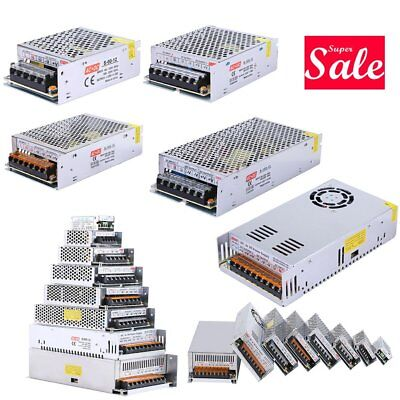 Universal 12V 3/5/10/15/20/25/30A Switching Power Supply Driver for LED Strip FH