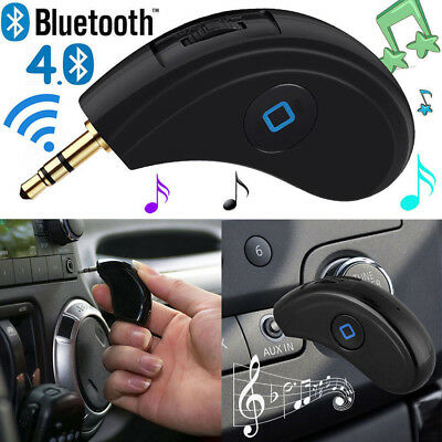Bluetooth Auto Empfänger Musik Receiver Adapter CSR Dongle 3.5mm Audio AUX IN DE