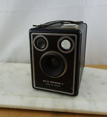 Vintage Kodak Six - 20 Brownie C Box Camera Made in England