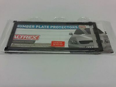 Number Plate Frame 5 Digit Surrounds Covers Rego Licence License Figure Lines