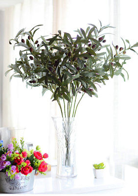Artificial Olive Branch - Green