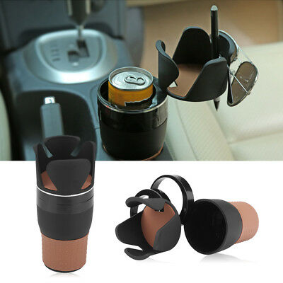 Car Truck Drink Cup Holder Bottle Can Stand Phone Key Coin Organizer Storage Box