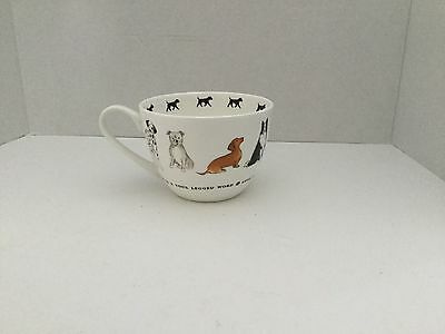 "Portobello By Inspire Bone China ""Love Is A Four Legged Word"" Cup"