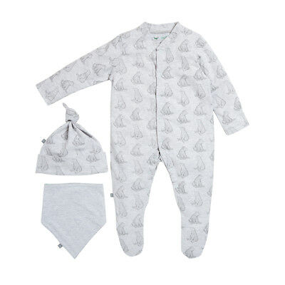 Wild Cotton Organic Baby Gift Set - Bear 3-6 months