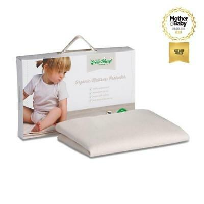 Organic Mattress Protector To Fit Boori / Stokke Home 70x132cm