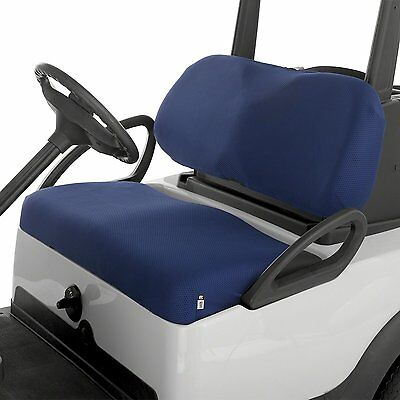 Classic Accessories Golf Cart Diamond Mesh Bench Seat Cover NAVY Blue Buggy