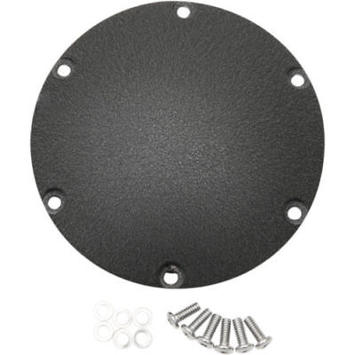 Drag Specialties Wrinkle Black Derby Cover for Harley Sportster 2004-2017