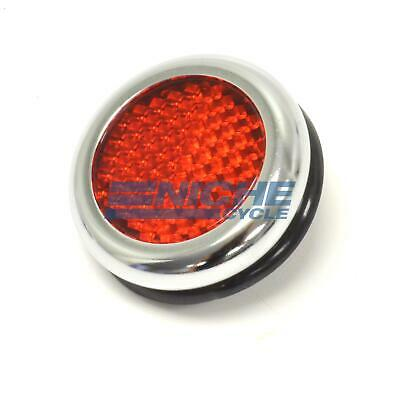 Triumph BSA Norton Lucas-Style Red Reflector RER25