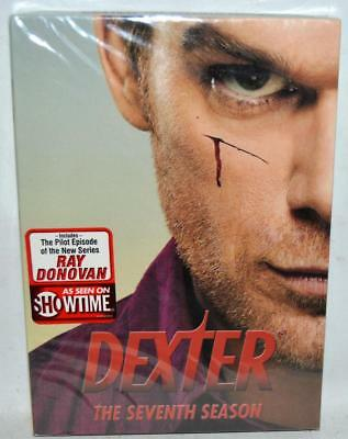 NEW SEALED Dexter: The Seventh Season (DVD, 2013, 4-Disc Set) ~146
