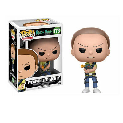 Funko Pop! Rick And Morty 173 Weaponized Morty Vinyl Figure