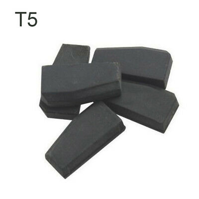 5 Pcs T5 ID20 Car Key Chip Blank Ceramic Carbon Original Unlock Transponder