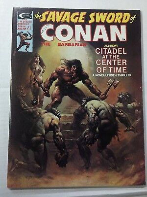 The Savage Sword of Conan The Barbarian #7, (1975) VF + Shape, Magazine Mgmt Co.