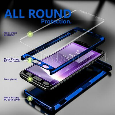 360° Shockproof Full Body Hybrid Hard Case For Samsung Galaxy S7 S8+ S9 S10 Plus