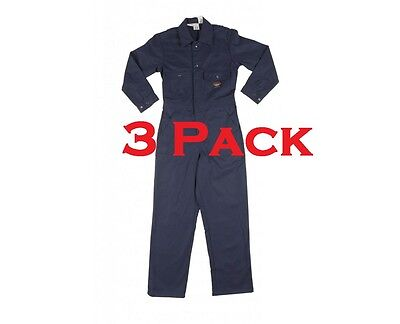 Bulwark Workrite FR Fire Resistant Nomex Coveralls –Used-3Pack-FREE Shipping