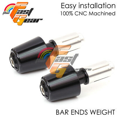 Black War-Z CNC Bar Ends Weight Kit For Ducati 848 / EVO / S / R 07-14 08 09 11