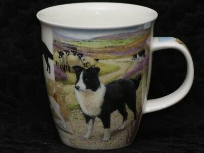 DUNOON COUNTRY LIFE (Dogs) Fine Bone China NEVIS Mug #3B