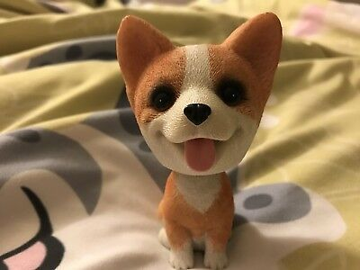 Corgi Bubble Head ( Tan And White )