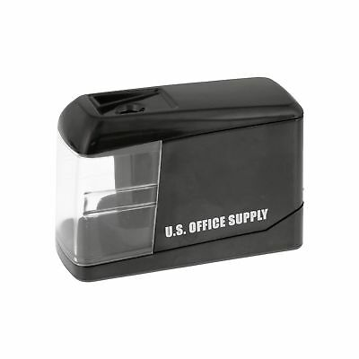 U.S. Office Supply Electric Pencil Sharpener - Battery or USB Powered - Sharp...