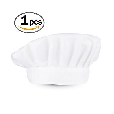 Timfany Chef HatsAdjustable Size Chef Hat for Adult or Kids Pack of 1 1 Pack