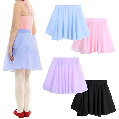 Toddler Kids Girls Chiffon Party Ballet Dance Wear Tutu Skirt Dress Costume