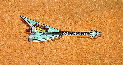 Hard Rock Cafe Pin Los Angeles Turquoise Classic Car Guitar Tail Fin