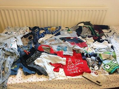 Bundle Of Baby Clothes 0-3 and 3-6 Months ('Boys')